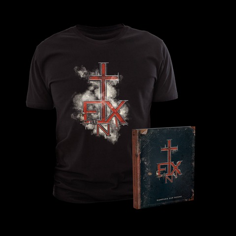 Kompass zur Sonne (Ltd. Bundle: Deluxe Edition + T-Shirt) von In Extremo - CD Bundle jetzt im In Extremo Shop